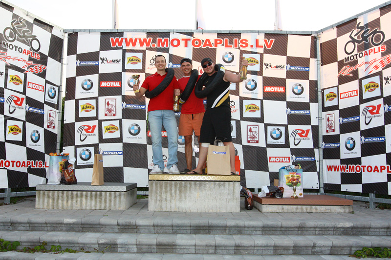 """MOTOAPLIS cup"" race for beginners"